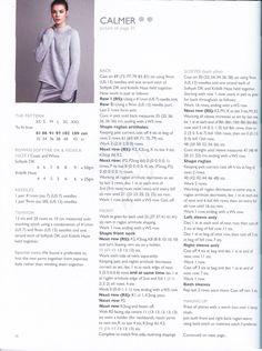 """Журнал """"Calm. Kim Hargreaves"""" №3 2018г. Обсуждение на LiveInternet - Российский Сервис Онлайн-Дневников Knitting Stitches, Knitting Patterns, Crochet Projects, Knit Crochet, It Cast, Rowan, Knits, Ideas, Tricot"""