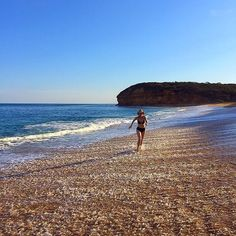 """Catriona Rowntree """"Australia's Most Travelled Woman dropped by Bells Beach yesterday and snapped this great photo -  #Repost @catriona_rtree #sunset #bellsbeach #heatwave #heaven #destinationsurfcoast #surfcoast #surfcoastwalk #visitvictoria #australia by destinationsurfcoast http://ift.tt/1KnoFsa"""