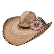 CHARLIE 1 HORSE - Charlie 1 Horse Fancy Free Straw Cowgirl Hat - NRSworld.com