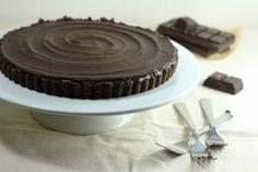 Triple Chocolate Truffle Tart