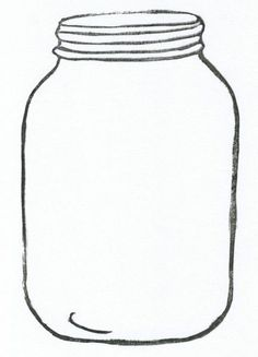 Mason Jar Card Template