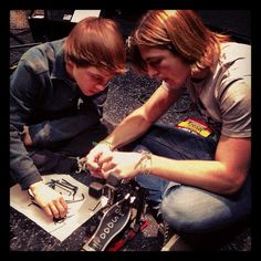 fixing the drum pedal  officialr5 instagram