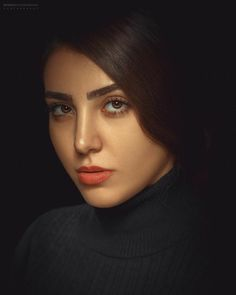 Fashion Logo Design, Fashion Branding, Girl Photo Poses, Girl Photos, The Little Match Girl, Iranian Beauty, Turtleneck Outfit, Fashion Merchandising, Old Faces