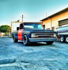 C10 with Nitto 555R 325/50R15 on Aero 15x9.5 4.5BS
