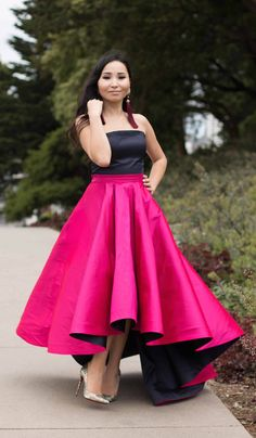 'ALICE' SKIRT - HOT PINK ULTRA VERSATILE VOLUMINOUS FULL BALL GOWN. COMES IN OTHER COLORS! HOT PINK, BLUE, BLACK, GREEN, ETC.
