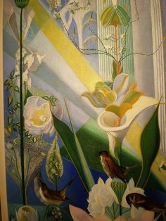 joseph stella paintings | Joseph Stella 'Dance of Spring (Song of the Birds) 1924, Kemper Museum ...