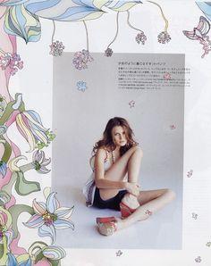 NYLON fashion magazine (Japan) Illustrations