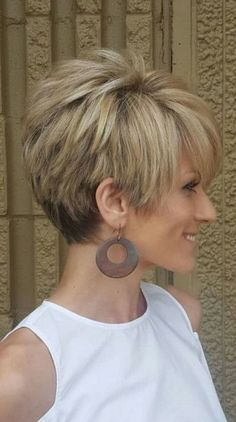 Big hair- cute tousled short cut