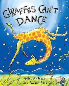 Giraffes Can't Dance by Giles Andrede Scholastic 2002 early readers school book#