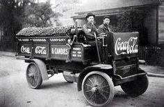 primeros repartidores de CA COLA 1909               historicas