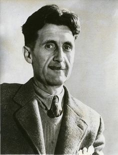"""""""War against a foreign country only happens when the moneyed classes think they are going to profit from it."""" - George Orwell"""