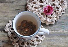 Crochet Coasters - Set Of Four on Luulla