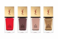 YSL summer 2012 nail lacquers