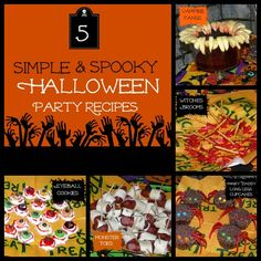 5 Simple & Spooky Halloween Party Recipes