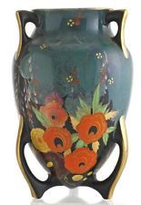 Art Deco Carlton  Ware Nightingale Bomb Vase.
