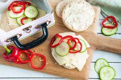 Sjekk oppskriften her. Caprese Salad, Plastic Cutting Board, Flora, Baking, Bread Making, Patisserie, Backen, Bread, Insalata Caprese