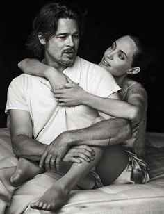 Vanity Fair, Italia. November-2015 - Angelina Jolie and Brad Pitt by Peter Lindbergh