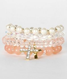 $10 BKE Beaded Bracelet Set - The Buckle