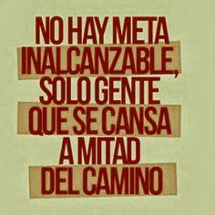 Fuerza de voluntad, perseverancia, constancia y entusiasmo son atributos que permiten a las personas en acción llegar a su destino. www.carlosybarbara.com