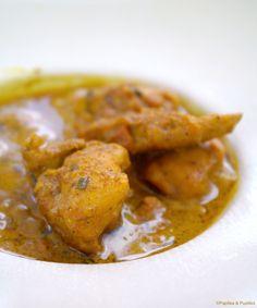 Curry poulet au garam masala