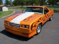 1986 Chevrolet El Camino.