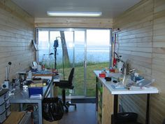 this is my cool shipping container studio - stage 1
