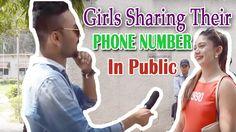 GIRLS Sharing Their PHONE NUMBER  in Public || Ghanta Hai Prank || #Ghan...