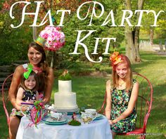 DIY Hat Party Kit for FIVE    Professional Quality by LushLapel, $125.00