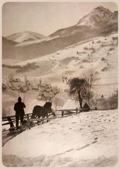 Heart Of Europe, Expo, Eastern Europe, Old Photos, Winter Wonderland, Folk Art, The Past, Country, Places