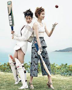 Image result for korean girls cricket vogue