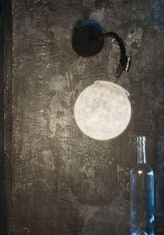 """Wall lamp - """"Micro luna"""" applique BUY IT NOW ON www.dezzy.it!"""