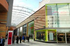 Princesshay shopping centre Exeter, Devon, UK. c/o devoncornwallonline.com