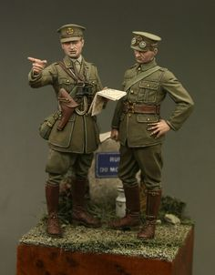 SORTING OUT THE SIGNALS, 1:35 Tommy's War Miniatrues