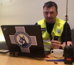 Andrè Sørli jobber i KO, leteaksjon i Oslo