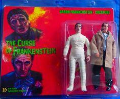 "Curse Of Frankenstein 8"" Retro Mego Style Figure 2-Pack"