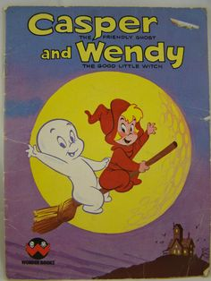 Casper the Friendly Ghost and Wendy the Good Little Witch by innerchildbooks