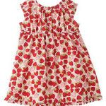 Gymboree NWT Little Strawberry Dress 3 6