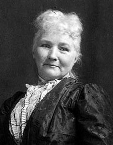 """Mary Harris """"Mother"""" Jones  1830-1930 after her husband and 4 children died of yellow fever and her workshop was destroyed in a fire in 1871, she began working as an organizer for the Knights of Labor and United Mine Workers union. She was known as Mother Jones. In 1902 she was called """"the most dangerous woman in America"""" for her success in organizing mine workers/their families."""