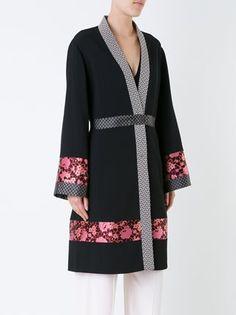 Etro пальто-кимоно