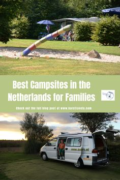 4 fun campsites in The Netherlands with kids - KarsTravels