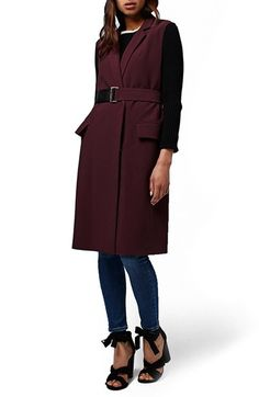 Crushing on this versatile sleeveless coat that is perfect for layering on crisp fall days. this Nordstrom Anniversary Sale essential will transition from season to season effortlessly.