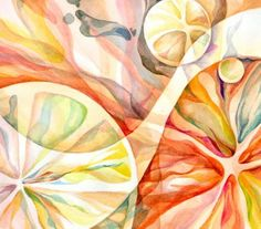 citrus fruits by shomomomomo Natural Forms Gcse, Natural Form Art, Watercolor Fruit, Fruit Painting, A Level Art Sketchbook, High School Art Projects, Fruits Drawing, Art Aquarelle, All Nature
