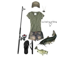 This is my new fishing outfit.....I am moron fishing after all.
