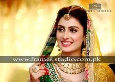 Ayeza Khan Ayeza Khan Wedding, Indian Bridal Makeup, Pakistani Dresses, Mehendi, Beautiful Bride, Bridal Style, Bridal Jewelry, Makeup Looks, Jewelery