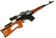 Dragunov 7.63x54mm/10 round mag, Sniper Rifle