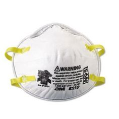 3M Particulate Respirator N95, 20-Pack by 3M. $14.99. Amazon.com                3M's Particulate Respirator 8210Plus features the latest in headband material with no-tangle  comfort straps. An adjustable metal noseclip and soft nose foam help provide a custom fit and secure seal. Use to reduce exposure to particulates including dusts and mists.                                    From the Manufacturer                3M's Particulate Respirator 8210, N95 builds on all of the feat...