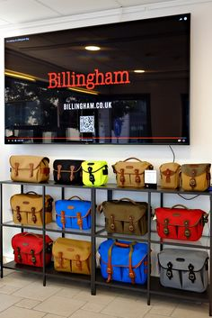 What a stunning display of our bags at Photohaus.de (photohaus.de on Facebook) in Germany. Why not pop in if you are nearby! #billinghambags #billingham #billinghambag #billinghams  #retailer  #billinghamstockist #billinghambagdisplay #germany #hamburg #billinghamhadleypro2020 #billinghamhadleypro #billinghamhadleyone #billinghamhadleysmall #billinghamhadleylarge #billinghamhadleylargepro #billingham72 #billinghams3 #billinghams4 #billinghamhadley  #madeinengland Bag Display, Place Names, West Midlands, The Dreamers, Germany, Retail, Facebook, Pop, Bags