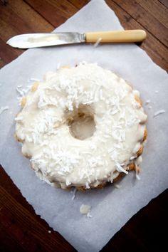 Classic Vanilla Coconut Flour Paleo Cake