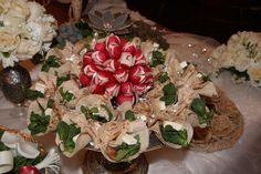 Bread with Herb & cheese arrangement