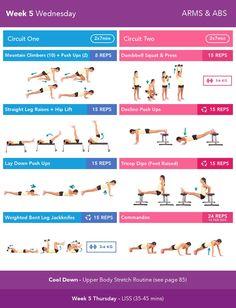 Bikini beach body guide by Kayla.  Killer workout program! Never been so tired in my life!